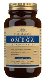 Bild på Solgar Wild Alaskan Full Spectrum™ Omega 120 Softgels