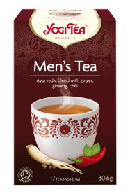 Bild på Yogi Tea Men's Tea 17 tepåsar