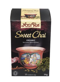 Bild på Yogi Tea Sweet Chai 17 tepåsar