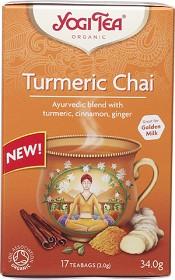 Bild på Yogi Tea Turmeric Chai 17 tepåsar