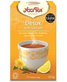 Bild på YogiTea Detox Lemon 17 tepåsar