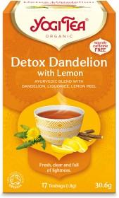 Bild på YogiTea Detox Dandelion Lemon 17 tepåsar