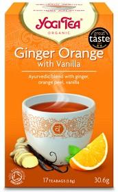 Bild på Yogi Tea Eko Te Ginger Orange Vanilla Krav 17 påsar