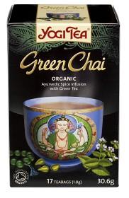Bild på YogiTea Green Chai 15 tepåsar
