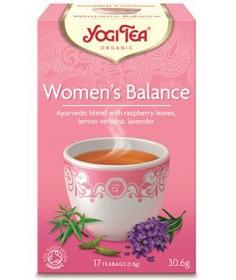 Bild på YogiTea Women's Balance 17 tepåsar