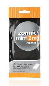 Bild på Zonnic Mint, munhålepulver portionspåse 2 mg 20 st