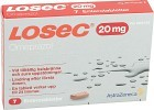 Losec enterotablett 20 mg 7 st