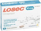 Losec, enterotablett 10 mg 14 st