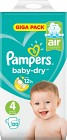 Pampers Baby-Dry S4 9-14 kg 120 st