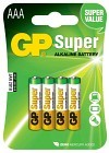 Batteri Super AAA LR03 1,5V 4 st