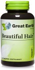 Great Earth Beautiful Hair 60 tabletter