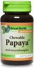 Great Earth Chewable Papaya 90 tabletter