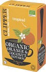 Clipper Organic Orange & Coconut Infusion 20 st