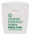 Desert Essence Tea Tree Oil tandtråd tunn 50 YDS tunn