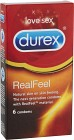 Durex Real Feel kondom 6 st