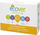 Ecover Maskindiskmedel All-in-One 25 st