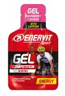 Enervit Sport Gel Koffein Hallon 25 ml