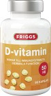 Friggs D-vitamin 90 kapslar 50 µg