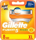 Gillette Fusion Power rakblad 8 st