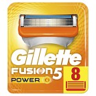 Gillette Fusion5 Power rakblad 8 st
