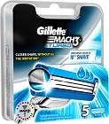 Gillette Mach3 Turbo rakblad 5 st