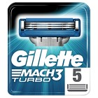Gillette Mach3 Turbo rakblad 5 st
