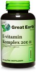 Great Earth E-Vitamin Komplex 200 IE 90 tabletter