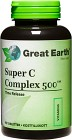 Great Earth Super C Complex 500 mg 90 tabletter