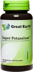 Great Earth Super Potassium 100 tabletter