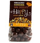 Happy People Planet Chokladöverdragen Ingefära 150 g