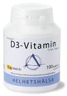 Helhetshälsa D3-vitamin Vegan 100 kapslar