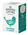 Higher Living Peppermint & Licorice 15 tepåsar