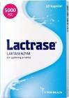 Lactrase laktasenzym, kapslar 10 st