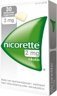 Nicorette, medicinskt tuggummi 2 mg 30 st