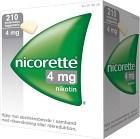 Nicorette, medicinskt tuggummi 4 mg 210 st