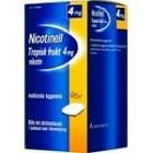 Nicotinell Tropisk frukt, medicinskt tuggummi 4 mg 96 st
