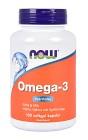 NOW Omega-3 100 kapslar
