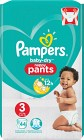 Pampers Baby-Dry Nappy Pants S3 6-11kg 44 st