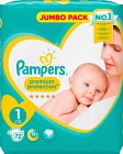 Pampers New Baby S1 2-5kg 72 st