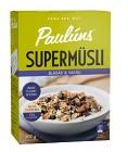 Pauluns Supermüsli Blåbär & Vanilj 500 g