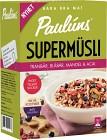 Pauluns Supermüsli Tranbär, Blåbär & Mandel 420 g