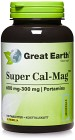Great Earth Super Cal-Mag 600/300 mg 100 tabletter