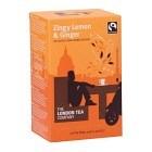The London Tea Company Zingy Lemon & Ginger 20 st