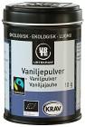 Urtekram Vaniljpulver Fairtrade 10 g