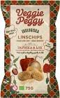 Veggie Peggy Linschips Paprika & Lök 75 g