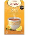 YogiTea Detox Lemon 17 tepåsar