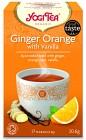 Yogi Tea Eko Te Ginger Orange Vanilla Krav 17 påsar
