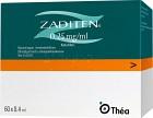 Zaditen, ögondroppar, lösning i endosbehållare 0,25 mg/ml 60 x 0,4 ml