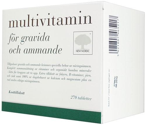 multivitamin för gravida