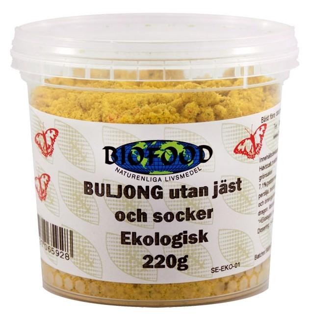 biofood buljong utan jäst